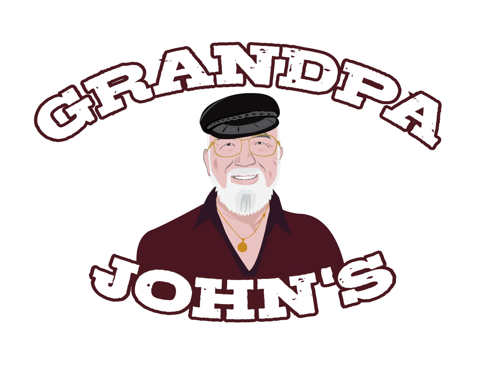 Grandpa Johns Logo Design Mockups