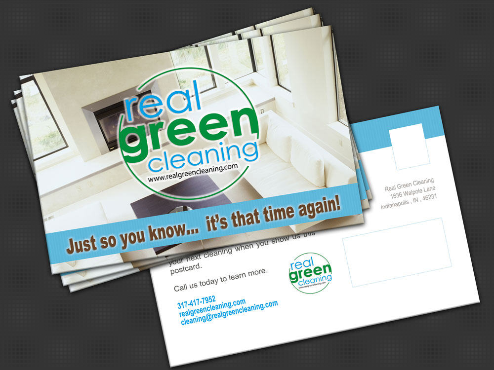 Postcard Printing & Design Real Green Dallas