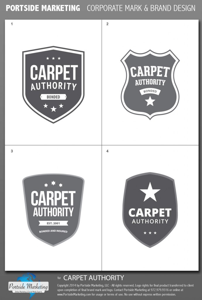 Logo Design for the Carpet Authority - Logo Design Ideas