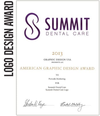 2013 American Graphic Design Awards – Summit Dental Care