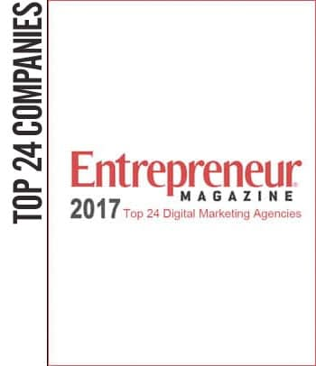 2017 Entreprenuer Magazine Top 24 Digital Marketing Companies