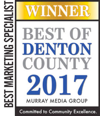 2017 Winner Best of Denton County – Best Marketing Specialist