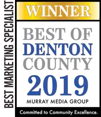 2019 WINNER Best Marketing Specialist – Best of Denton County