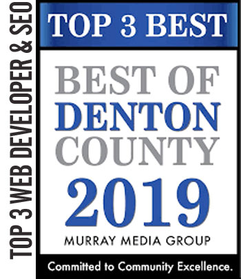 2019 Top 3 Web Developer SEO – Best of Denton County
