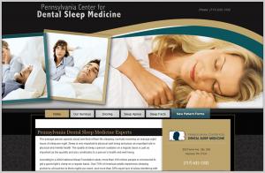 CPAP Alternative Dentist Dental Webiste