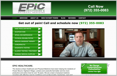 EPIC-Chiropractor-Website-Design