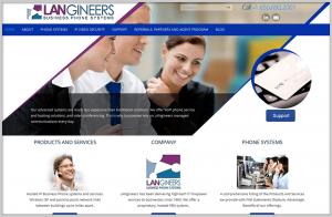 Langineers Business Website Design