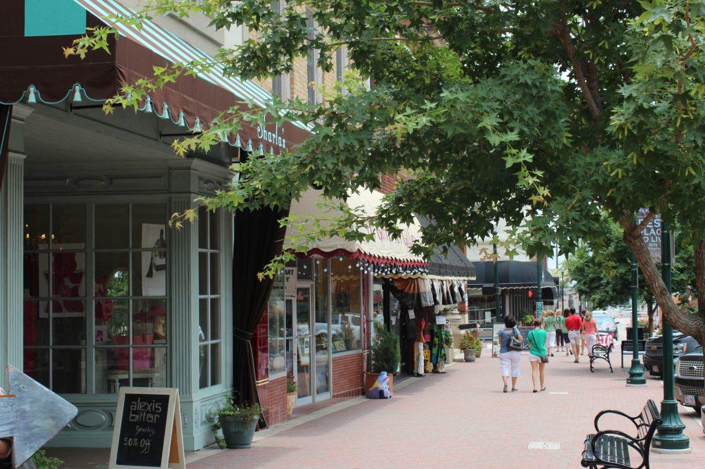 Main Street McKinney Texas