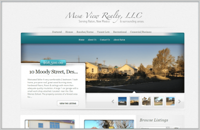 Estate Website Design