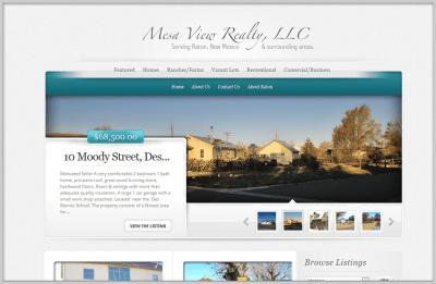 Estate Website Design
