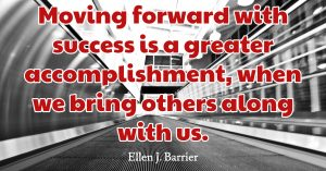 Keep Moving for Success - Quote of the Day