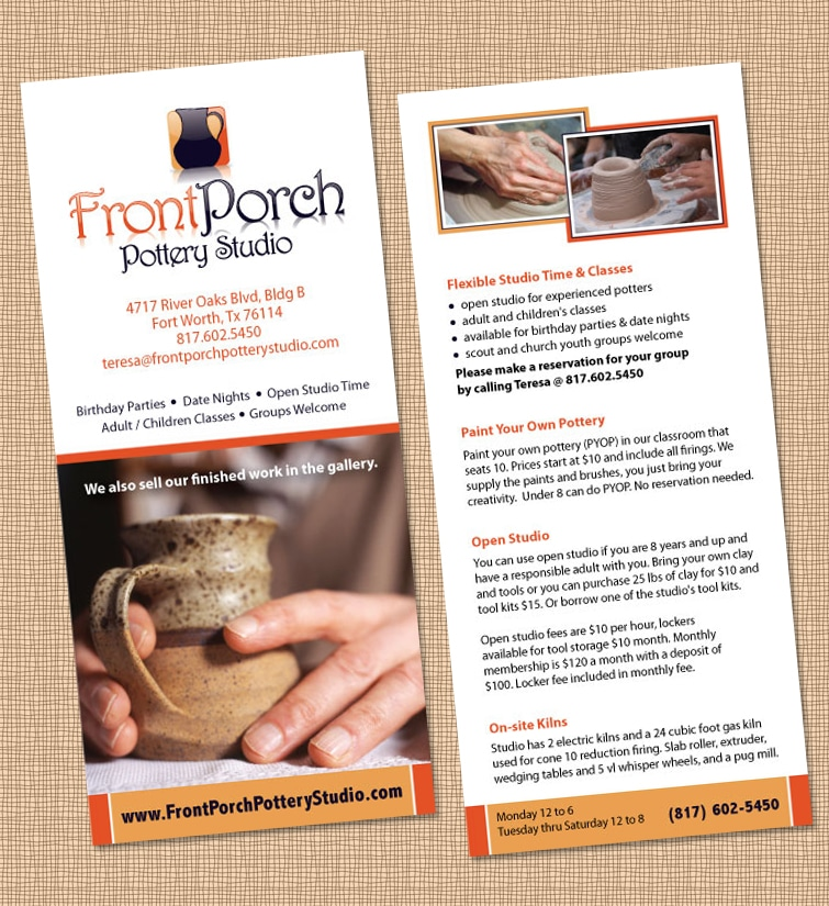 Rack Card Design & Printing - FPPS