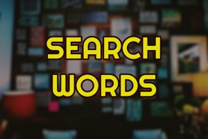Search Words