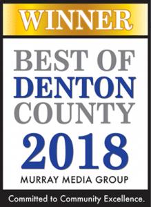 Best of Denton County Web Design SEO 2018 Winner