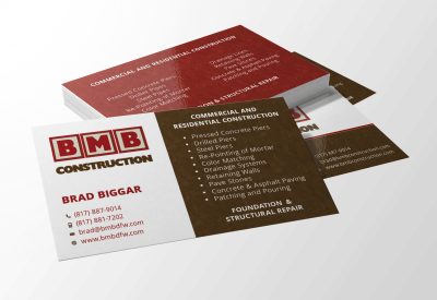 Business card design archives website design flower mound logo business card design reheart Gallery