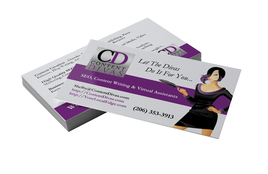 Business card printing cdiva website design flower mound logo business card printing cdiva reheart Image collections