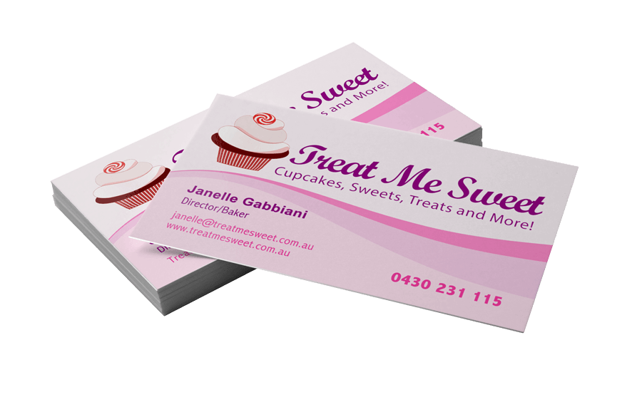 business-card-printing-cupcakes - Website Design Flower Mound Logo ...