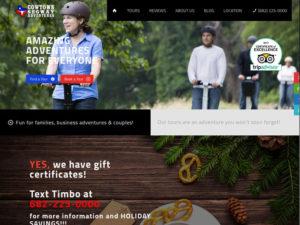 Cowtown Segway New Website Design