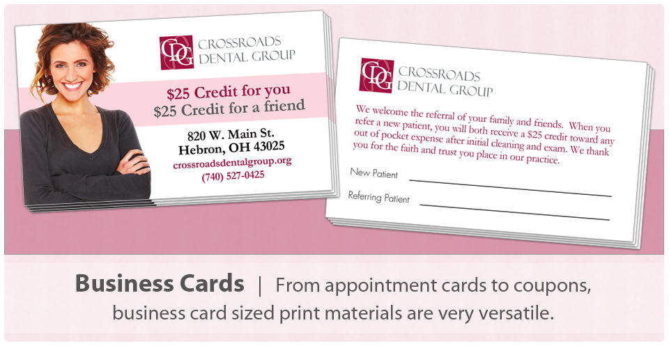 Crossroads Print Marketing Business Card Printing and Design