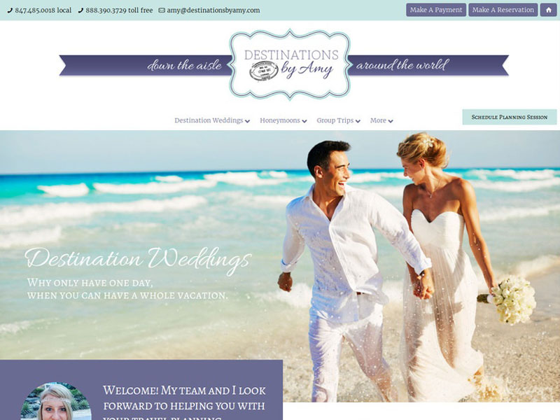 Dstinations by Amy New Website