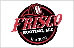 Frisco Roofing Logo - Logo Design by Portside Marketing, LLC