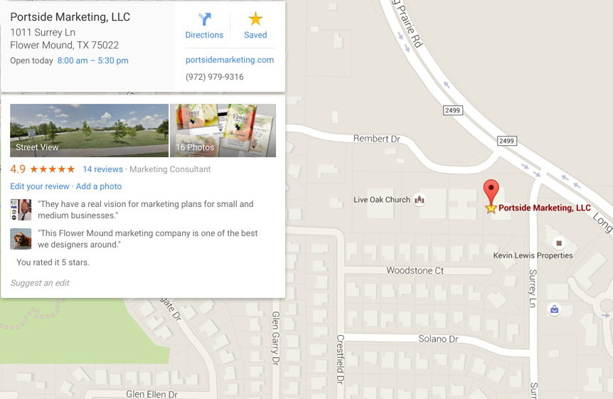 Google Maps Ranking Flower Mound Dallas Maps Ranking - Website ... on