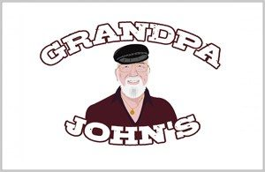 Grandpa Johns Logo Design