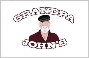 Grandpa Johns Logo Design