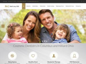 Mark Levy DDS Dental Website Design