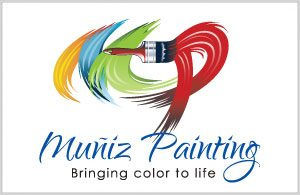 Muniz Painting Logo - Logo Design by Portside Marketing, LLC