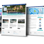 Website Design Flower Mound - Riverbrook Pools