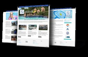 Website Design Flower Mound - Riverbrook Pools