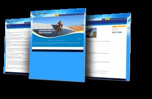 Website Design Flower Mound - Solartyme