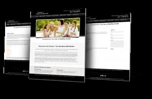 Highland Village, Texas Web Design Example