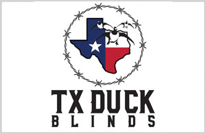 TX Duck Blinds - Logo Design Texas