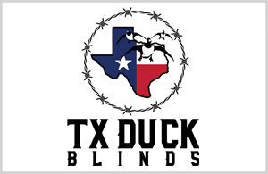 TX Duck Blinds Logo - Logo Design by Portside Marketing, LLC