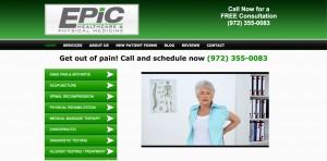 Website Design Portfolio Chiropractor