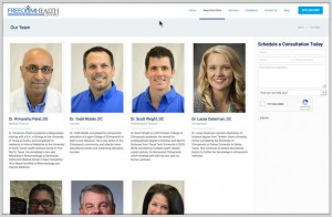 Website Design Portfolio Chiropractors