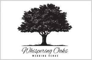 Whispering Oaks Wedding Logo - Logo Design by Portside Marketing, LLC